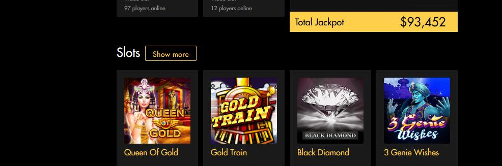 Black Diamond Casino - US Players Accepted! 3